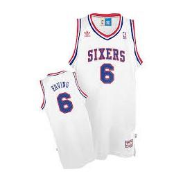 Camiseta Julius Erving Philadelphia 76ers Blanca