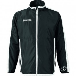 Chaqueta de chandal Spalding Evolution woven jacket Negro / Blanco