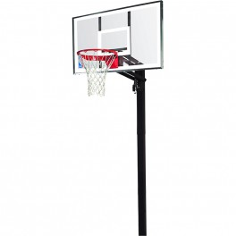 Canasta SPALDING NBA GOLD EXACTA HIGH LIFT IN GROUND