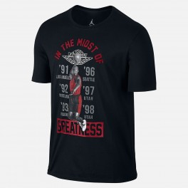 Camiseta Nike Air Jordan Midst of Greatness Tee (Black)