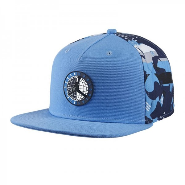 7616aaa5cd810 Gorra Nike Air Jordan 9 Low University Blue White Black Snapback