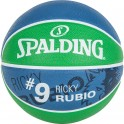 Balon Spalding NBA Player Ball Ricky Rubio green navy