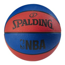 Balon Spalding NBA Miniball Blue/Red talla 1