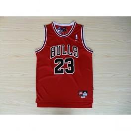 Camiseta Michael Jordan Chicago Bulls Roja Niño
