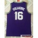 Camiseta Peja Stojakovic Sacramento King Purple