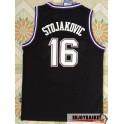 Camiseta Peja Stojakovic Sacramento Kings Negra