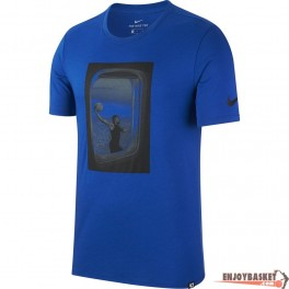 Camiseta Nike KD Dry Tee Freq Flyer Azul de Kevin Durant