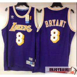 Camiseta Kobe Bryant Los Angeles Lakers Púrpura 8