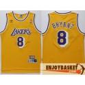 Camiseta Kobe Bryant Los Angeles Lakers Amarilla 8