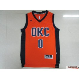 Camiseta Russel Westbrook Oklahoma City Thunder OKC Orange