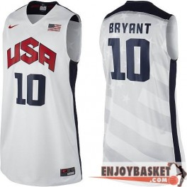 Camiseta Kobe Bryant USA Basketball Home