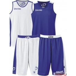 Conjunto Spalding Essential Reversible Azul Royal / Blanco