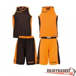 Equipacion Spalding Essential Reversible Naranja / Negro