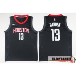 Camiseta James Harden Houston Rockets Black Away