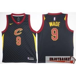Camiseta Camiseta Dwyane Wade Cleveland Cavaliers Black