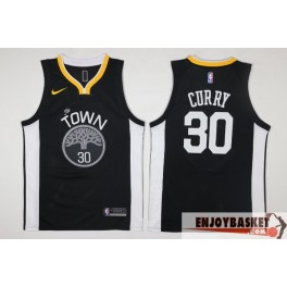 Camiseta Stephen Curry The Town Golden State Warriors Black