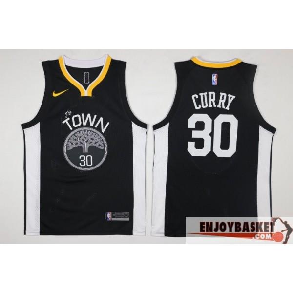 ecc8eb476e623 Camiseta Stephen Curry The Town Golden State Warriors Black