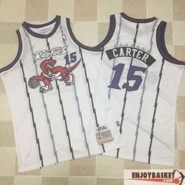 Camiseta Vince Carter Toronto Raptors Retro Home