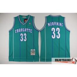 Camiseta Alonzo Mourning Charlotte Hornets
