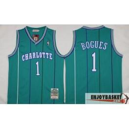 Camiseta Tyrone Muggsy Bogues Charlotte Hornets Retro