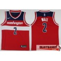 Camiseta John Wall Washington Wizars Red Away
