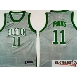 Camiseta Kyrie Irving Boston Celtics Grey