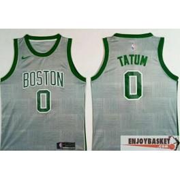 Camiseta Jayson Tatum Boston Celtics Grey