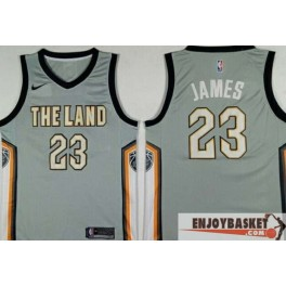 Camiseta Lebron James Cleveland Cavaliers The Land