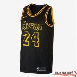 Camiseta Kobe Bryant Los Angeles Lakers Black Mamba City