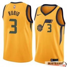 Camiseta Ricky Rubio Utah Jazz Naranja