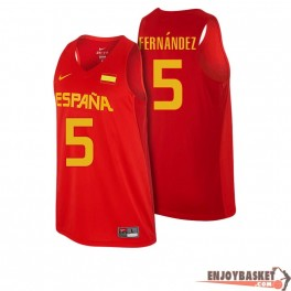 Camiseta Rudy Fernandez Selección Española Baloncesto