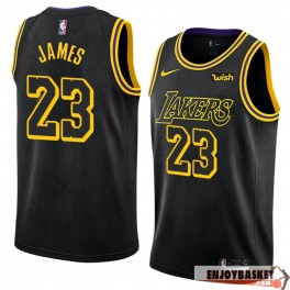 Camiseta Lebron James Los Angeles Lakers City Edition