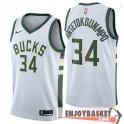 Camiseta Giannis Antetokounmpo Milwaukee Bucks Association Swingman