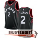 Camiseta Kawhi Leonard Toronto Raptors Negra