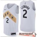 Camiseta Kawhi Leonard Toronto Raptors North White