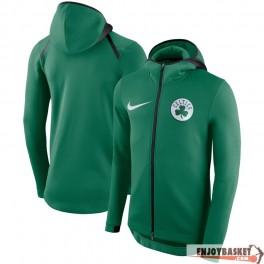 Boston Celtics Nike Showtime Therma Flex Performance Full-Zip Hoodie