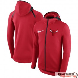 Chicago Bulls Nike Showtime Therma Flex Performance Full-Zip Hoodie