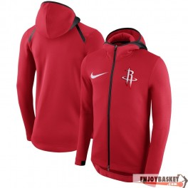 chaqueta nba Houston Rockets Nike Showtime Therma Flex Performance Full-Zip Hoodie