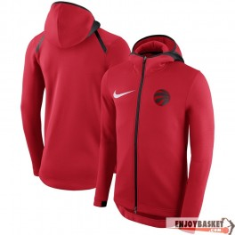 Chaqueta NBA Toronto Raptors Nike Showtime Therma Flex Performance Full-Zip Hoodie