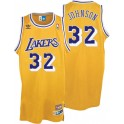 Camiseta Magic Johnson Los Angeles Lakers Amarilla