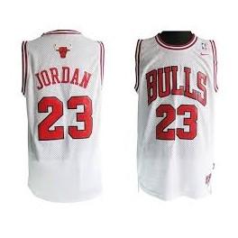 Camiseta Michael Jordan Chicago Bulls Blanca