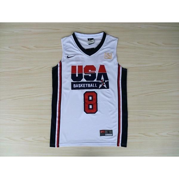 Camiseta Scottie Pippen USA 92 Dream Team White - Enjoybaske