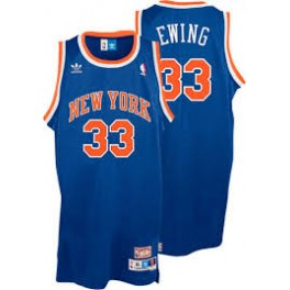 Camiseta Patrick Ewing New York Knicks Azul