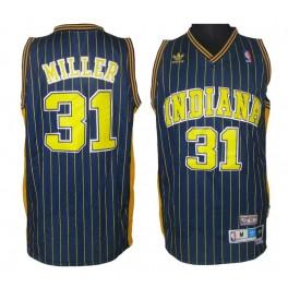 Camiseta Reggie Miller Indiana Pacers Dark Blue