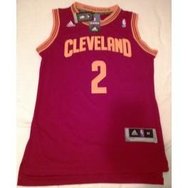 Camiseta Kyrie Irving Cleveland Cavaliers Roja