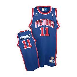 Camiseta Isiah Thomas Detroit Pistons Azul