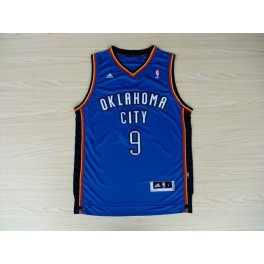 Camiseta Serge Ibaka Oklahoma City Thunder Azul