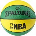 Balon Spalding NBA Miniball Green Yellow Talla 1