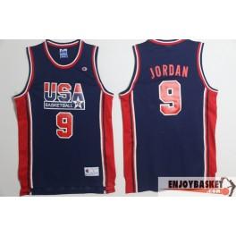 Camiseta Champion de Michael Jordan Selección Estados Unidos Dream Team Azul