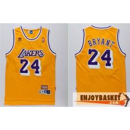 Camiseta Kobe Bryant Los Angeles Lakers Amarilla